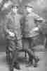 Giovanni (left), Italian army WW1