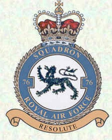 No. 76 Squadron RAF
