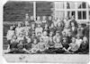 Rogerstone Tydu school 1931, Amy, tall girl far left, top row.